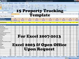 Property Management Excel Template 15 Property Tracking Expense And Rental Income Tracking
