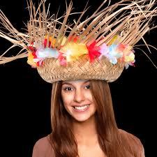 flower band beachcomber hat with flower band goimprints