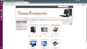 skripsi layout toko tutorial e commerce aplikasi toko online penjualan spare part