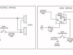 wiring diagram for horn relay wiring diagram and schematic design