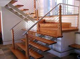 Contemporary Stair Rails And Banisters Contemporary Interior Stair Railings Furniture Design The