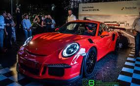 porsche 911 launch 2016 porsche 911 gt3 rs launched in lebanon gtspirit