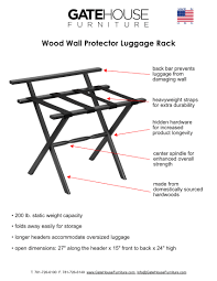 wall chair protector wood wall protector luggage rack product detail gate house furniture