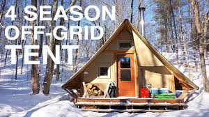 Cheap Tiny Homes by Off Grid Prospector Style Tent A Tiny House Alternative