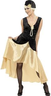 1920 Flapper Halloween Costumes 20s Gatsby Flapper Costume Costumes