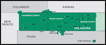 map ok panhandle who we are tcec