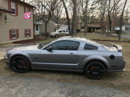 2015 Mustang Gt Black On Black Mustang Staggered 2015 Mustang Gt Style Black Wheel U0026 Sumitomo