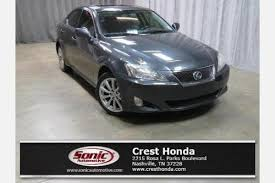 2006 lexus is250 for sale by owner used lexus is 250 for sale in nashville tn edmunds
