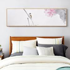 popular bedroom art prints buy cheap bedroom art prints lots from chinese modern flower and bird painting zen decorative painting of lotus and bird unframed