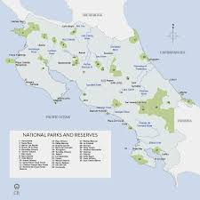 Map Of San Jose Costa Rica by Various Maps Of Costa Rica Showing Tourist Attractions Here Is A