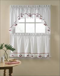Walmart Kitchen Curtains Kitchen Kitchen Curtains At Walmart Kitchen Window Curtain Ideas