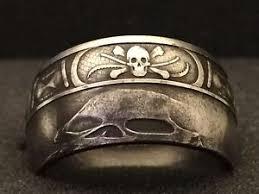Memento Mori - 24k moneda de plata pura anillo memento mori tallas 5 15 ebay