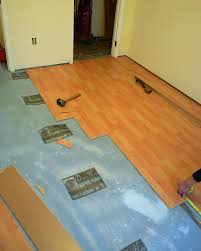 Laminate Floor Padding Underlayment How To Install A Laminate Floor How Tos Diy
