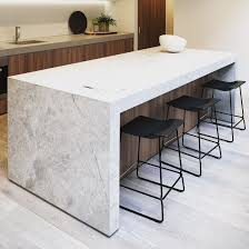 natural limestone kitchen island with undercut for bar chairs natural limestone kitchen island with undercut for bar chairs love the shadow gap st