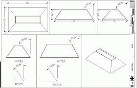cutting angles on a table saw bevel cuts for slope sided boxes