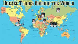 Uncw Map Drexel Tennis Around The World Youtube