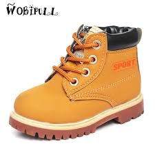 yellow boots s shoes 2017 fall children s martin boots boys style small