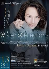 water reflections helene grimaud in recital programmes