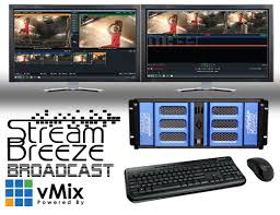 Audio Visual Rack Live Video Production System