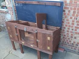 How To Build A Rabbit Hutch Out Of Pallets Recycled Pallet Rabbit Hutch U2022 1001 Pallets
