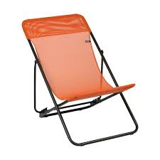 chaise potiron chaise longue maxitransat potiron lfm2502 7226 lafuma home