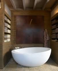 Travertine Bathtub Modern Travertine Master Bath
