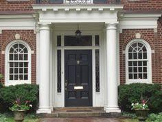 Colonial Exterior Doors Colonial Front Door Trim Images Front Doors Pinterest