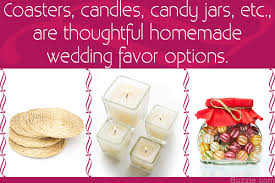 homemade wedding favor ideas for you if you u0027re pinching pennies