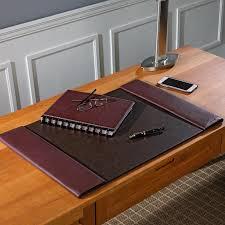White Leather Desk Blotter Bomber Jacket Desk Blotter Leather Desk Pad Levenger