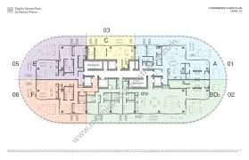 urban floor plans eighty seven park by renzo piano