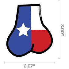 Flag Measurements Tactical Texas Balls Sticker U2013 Gunsticles Tactical By