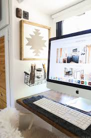 Rustic Modern Desk by How To Make Navajo Inspired Art Mountainmodernlife Com