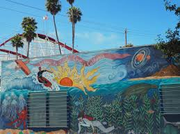 murals of santa cruz exploraspective ocean dwelling creatures are frequent subjects of murals as are two of santa cruz s classic ocean based sports surfing and sailing