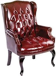 Leather Rolling Chair Amazon Com Boss Office Products B800 By Wingback Traditional