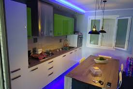 Kitchen Ceiling Design Kitchen False Ceiling With Leds Time Lapse Youtube