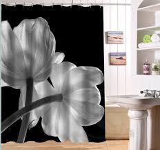Black And White Vertical Striped Shower Curtain Compare Prices On Black Stripe Shower Curtain Online Shopping Buy