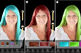 show me hair colors try on different hair colors and styles komando com