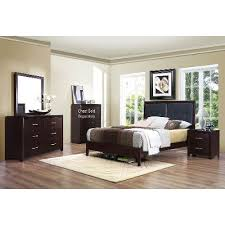 Espresso Contemporary Casual  Piece Queen Bedroom Set Edina - Bedroom sets at rc willey