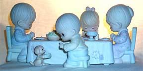 precious moments figurines we gather together to ask the lord s