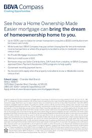 home ownership made easier mortgage bbva compass financial