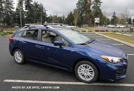 2017 subaru impreza sedan blue 2017 subaru impreza 5 door hatchback exterior photos page