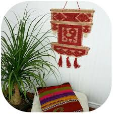 vintage boho wall hanging woven wall hanging tapestry eclectic