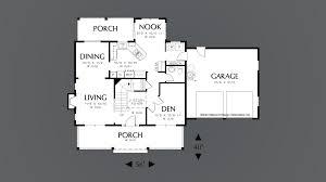mascord house plan 2132h the mitchell