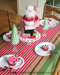 kids christmas table decorations christmas lights card and decore