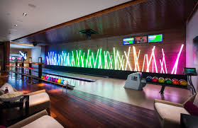 home plans with bowling alley home design and style