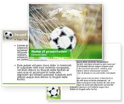 download soccer powerpoint template and background for your