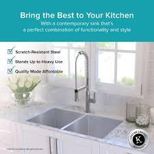 Kitchen Kitchen Sink Protector Hammered Copper Apron Sink Kraus by Best Grade Stainless Steel Kitchen Sinks U2022 Kitchen Sink
