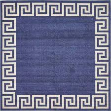 Modern Square Rugs Modern Square Rugs Navy Blue 8 X Key Rug Area Foot