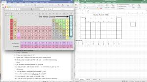 martian periodic table tutorial youtube