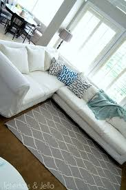 Slipcovers From Drop Cloths Make A Dropcloth Sofa Sectional Slipcover Tatertots And Jello
